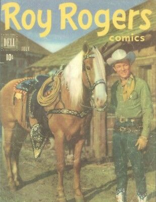 Postcard of Roy Rogers with Trigger