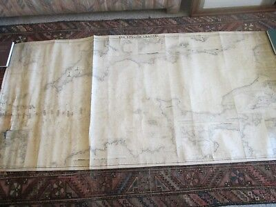 (1) Original 1870 Norrie & Wilson Chart, The English Channel