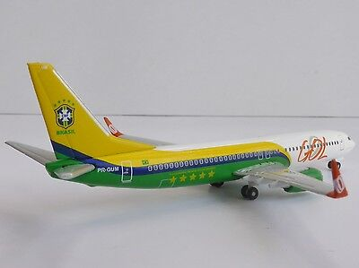 GOL Linhas Aereas Brazil National FOOTBALL Boeing 737-800 1/500 Herpa 524735 737