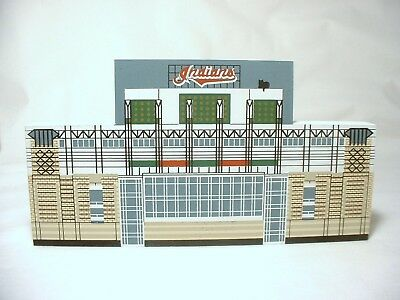 Cats Meow Cleveland Indians Ballpark Jacobs Field 1994 Wooden Display