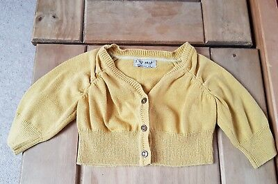 Next mustard short cardigan 6/9 months combine post create your own bundle