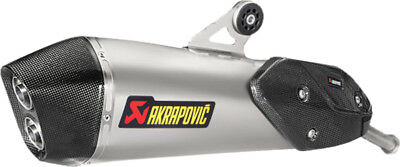 Akrapovic Slip-On Exhaust System For BMW C650 Sport 2016 Titanium S-B6SO8-HZAAT