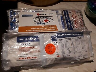 BMW E39 5 series First aid kit contents unused
