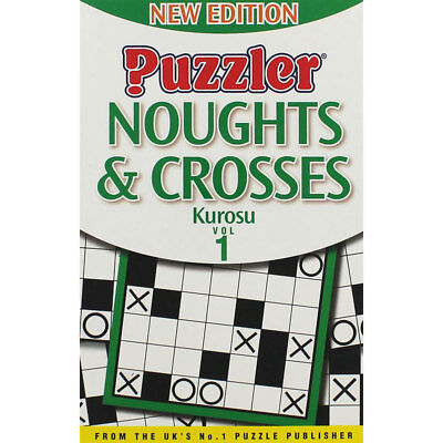 Puzzler Noughts and Crosses Kurosu - Volume 1, Non Fiction Books, Brand New