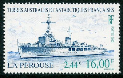 Timbre T.a.a.f. Terres Australes Neuf N° 267 ** Navire / La Perouse Cote +++ 7 €