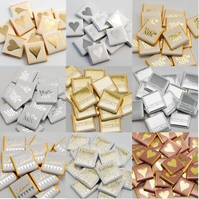 Neapolitan Chocolate Wedding Event Table Favour Box Fillings