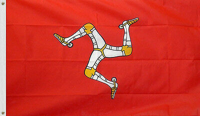 NEW 3x5 ft ISLE OF MAN GREAT BRITAIN UNITED KINGDOM FLAG