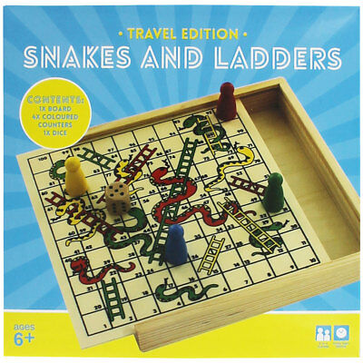 Snakes and Ladders - Travel Edition, Toys & Games, Brand New