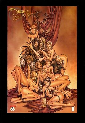 Darkness #7 Silvestri Variant  Nm  1997  Top Cow  Witchblade  Comic Kings