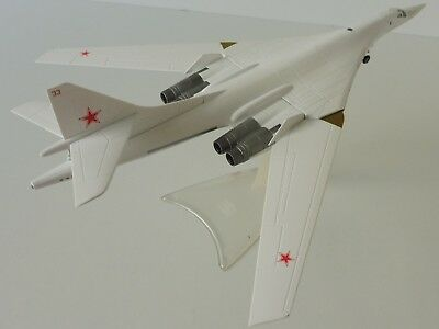 TUPOLEV TU-160 SOVIET AIR FORCE 1/200 Herpa 558785 White Swan Blackjack Pryluky