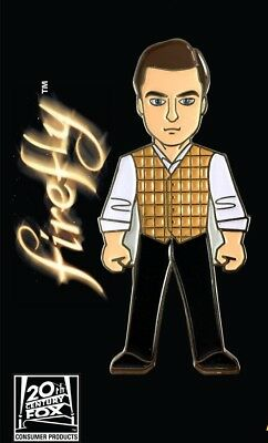 Firefly Simon Tam Standing Figure Large Colored Enamel Metal Pin NEW UNUSED