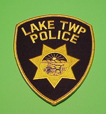 Lake Township  Ohio  Oh   Police Patch   Free Shipping!!!