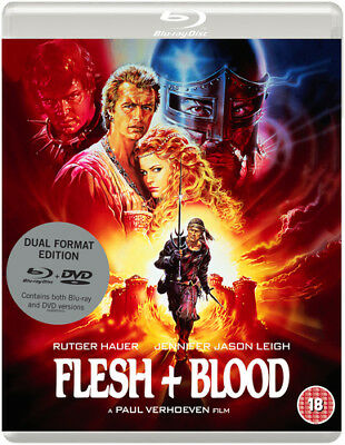 Flesh and Blood DVD (2018) Rutger Hauer ***NEW***