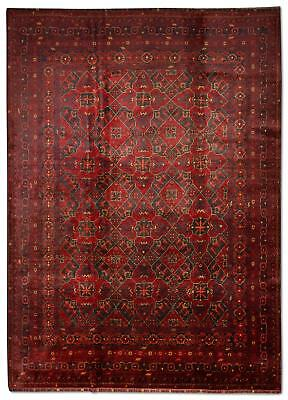East Afghan Khal Mohammadi Rug 298 x 210 Cm Red Hand Knotted