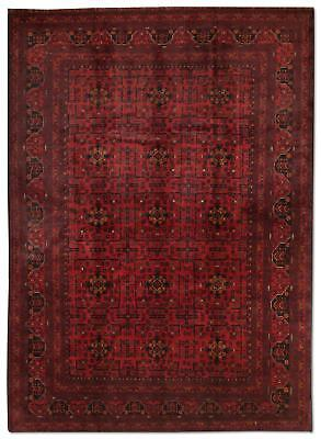 East Afghan Khal Mohammadi Rug 300 x 200 Cm Red Hand Knotted