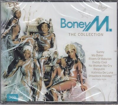 """Boney M / The Collection - Hits - Best of 12"""" Versions (3-CD-Box, NEU! OVP,NEW)"""