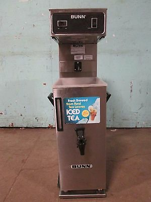"""BUNN TU3"" H.D. COMMERCIAL (NSF) 120V AUTOMATIC ICE TEA BREWER w/DISPENSER TANK"