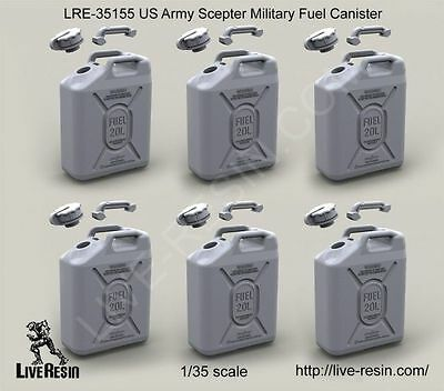 Live Resin 35155 1/35 US Army Scepter Military Fuel Canister