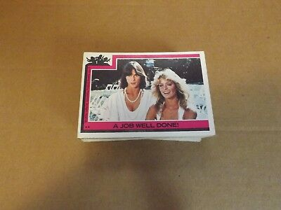Charlies Angels Series 1 Trading Card Near Set 53 Cards 1977 Topps