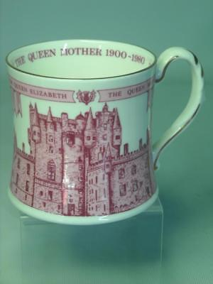 Coalport QUEEN ELIZABETH the QUEEN MOTHER 80th Year Mug Ltd Ed of 2500