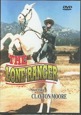 The Lone Ranger (DVD, 3 Episodes) NEW