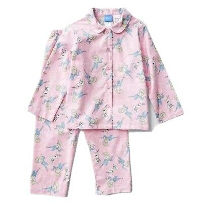 Girls size 4 DISNEY FROZEN Pink FLANNEL  pyjamas pjs  NEW  flannelette