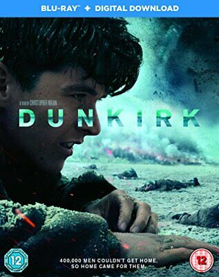 Dunkirk [Blu-ray + Digital Download] [2017] [Region Free] -  CD V1VG The Fast