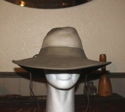 New with Tag Dorfman Pacific Gambler Crushable Men/'s Hat