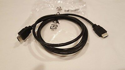 HDTV HDMI to HDMI Male 6FT Cable Black - NEW