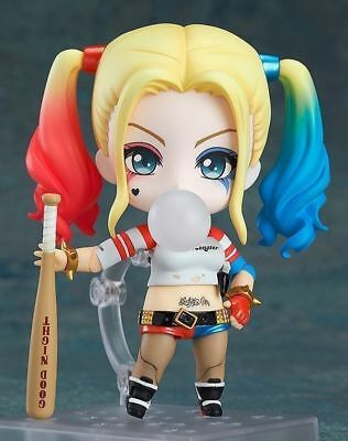 NEW Nendoroid 672 Suicide Squad HARLEY QUINN Suicide Edition Action Figure