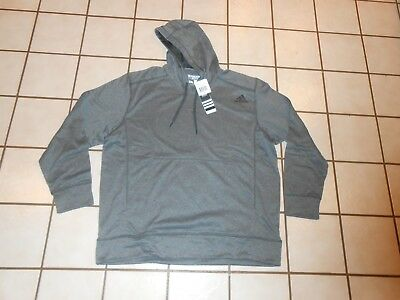 d403881a2a48 ADIDAS MENS ULTIMATE FLEECE PULLOVER HOODIE SIZE 2XL NEW Climawarm ...