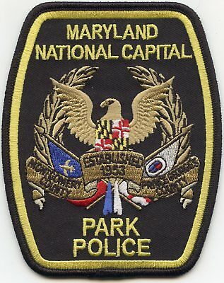 Maryland Md State National Park Police Patch