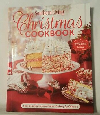 NEW 2017 Southern Living Christmas Cookbook Special Edition Dillard's Free Ship