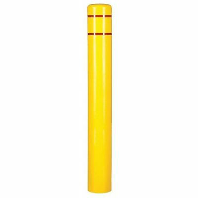 Post Sleeve,7 In Dia.,72 In H,Yellow