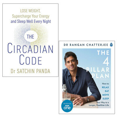 Circadian Code Lose weight supercharge your energy 2 Books Collection Set NEW