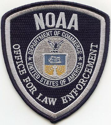 DEPARTMENT OF COMMERCE NOAA Ocean Atmosphere WASHINGTON DC Weather POLICE PATCH
