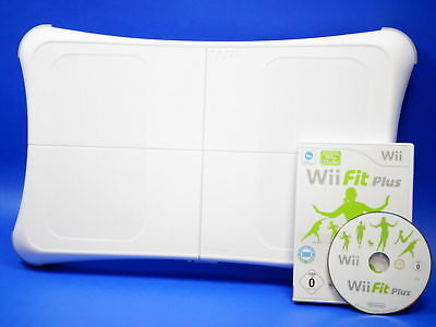 Nintendo Wii FIT PLUS mit original Nintendo Balance Board - weiss #54090