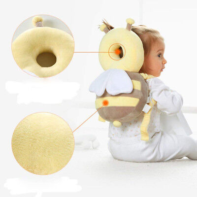 Baby Infant Bees Wings Walking Head Neck Back Protector Pillow Cushion Protect