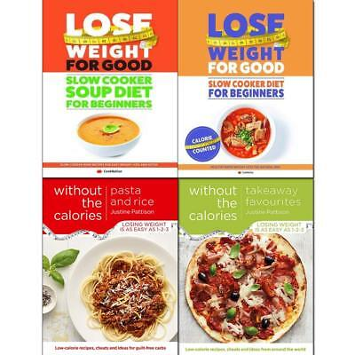 How To Lose Weight For Good Takeaway Favourites 4 Books Collection Set Brand NEW
