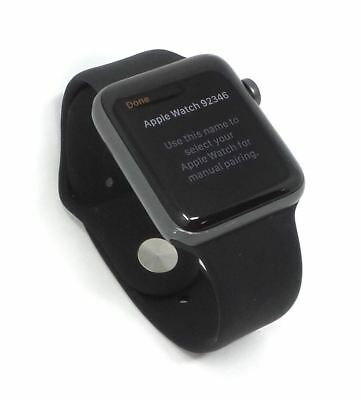 Apple Watch Series 2 Aluminum Space Gray 42mm GPS Black M/L Bare
