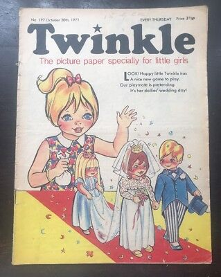 Twinkle  Comic No. 197. 30 Oct 1971. Very Good.