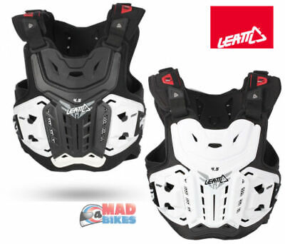 Leatt Adult MX Enduro Motocross Armour - Chest Protector 4.5 Roost Protection