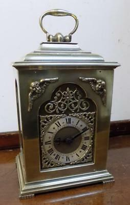brass cased timepiece bracket clock