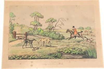 Henry Alken Original Colord Engravings 1785-1851 4 Available Framed Free Ship