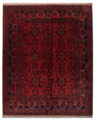 East Afghan Khal Mohammadi Rug 203 x 152 Cm Red Hand Knotted