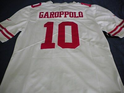 Nice JIMMY GAROPPOLO YOUTH Black San Francisco 49ers Jersey Size Large  for sale