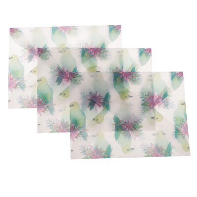 3pcs/lot Paper Envelopes for Wedding Tags Gift Card Thank You Cards Packing