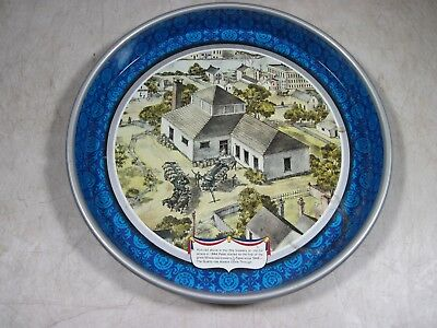 Vintage Pabst Blue Ribbon Metal Beer Tray 1976 Bicentennial Limited Edition PBR