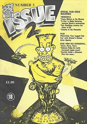 ISSUE 2 # 3<>BRITISH COMIC IN THE STYLE OF VIZ<>1988<>vf-(7.5)