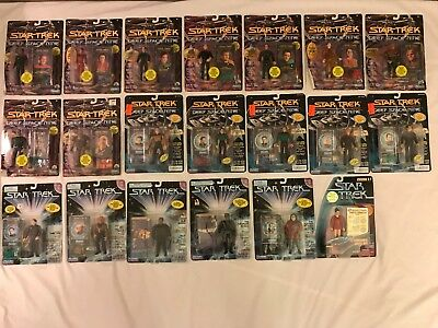Lot of 20 Playmates Star Trek Deep Space Nine Action Figures
